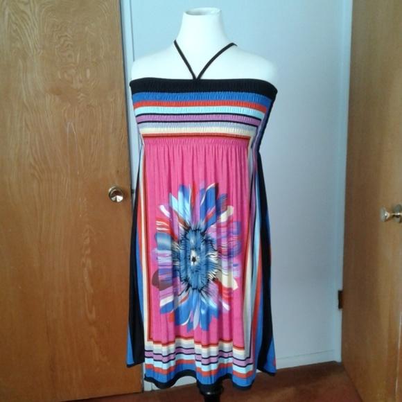 designer Dresses & Skirts - Multi color tube dress NNW